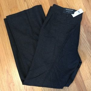 New Ann Taylor wool trousers in charcoal size 12